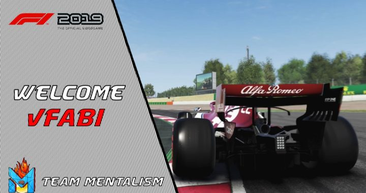 vFabii joins Team Mentalism on F1 2019
